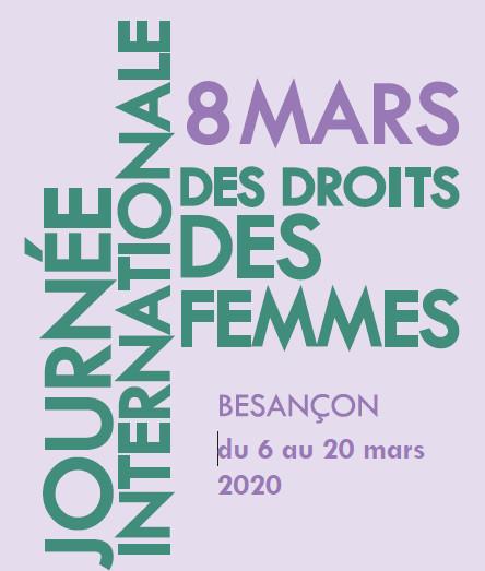 8 Mars 2020. Journée internationale pour les droits des femmes