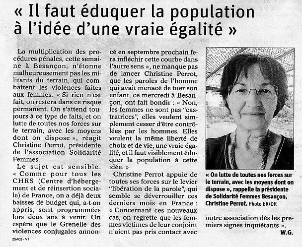 «Il faut éduquer la population à l'idée d'une vraie égalité»
